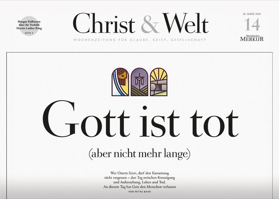 Christ&Welt 14/2018