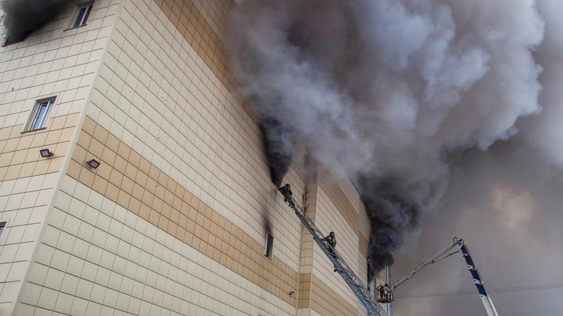 Brand in Kemerowo: Bilder einer Supermacht
