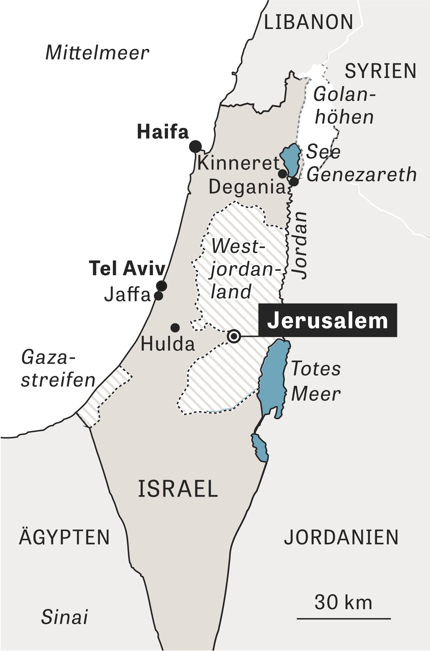 Israel Karte.Israel Warum Kommt Das Land Nicht Zur Ruhe Zeit Online
