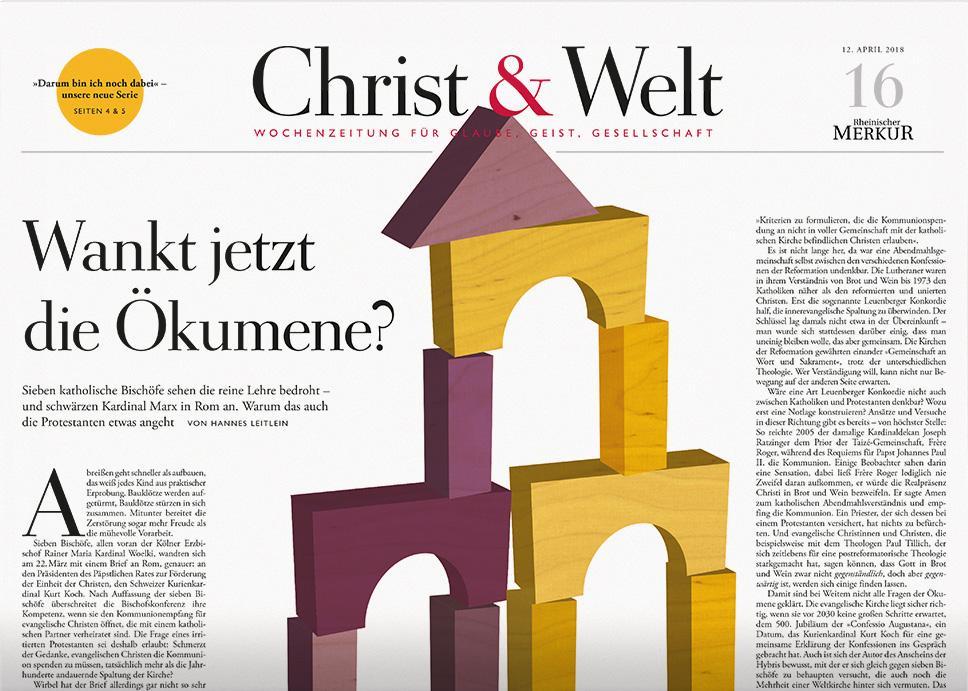 Christ&Welt 16/2018