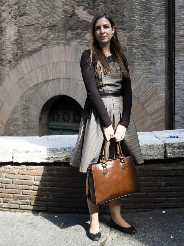 Jugend und Kirche: Bei der Vorsynode in Rom war Alina Oehler im März bereits dabei.