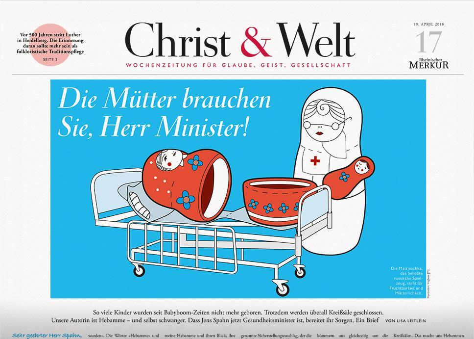 Christ&Welt 17/2018