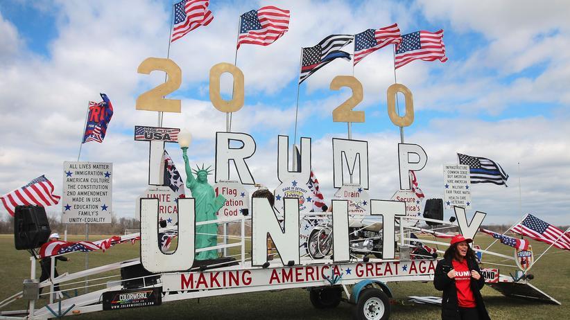 Donald Trump: Von wegen Absturz