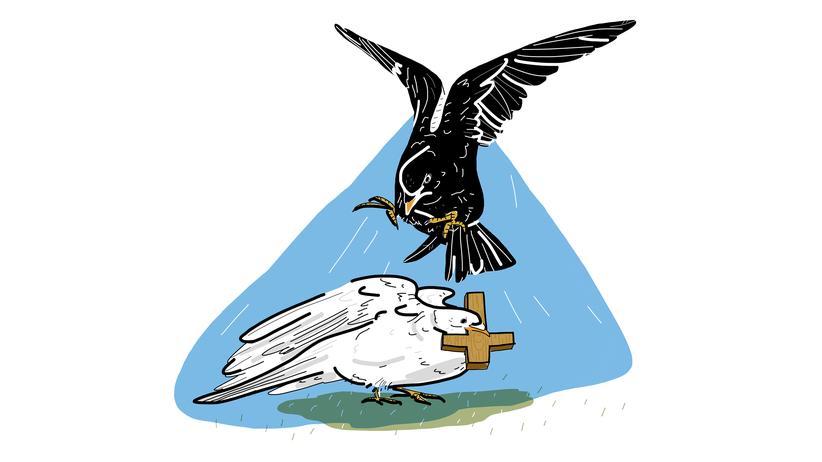 Union und die katholische Kirche: Über Kreuz