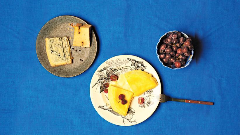 Eierspeise: Omeletts sind prächtige Resteverwerter.