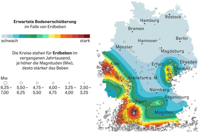 Erdbeben Deutschland Karte.Erdbeben Schwer Erschuttert Zeit Online