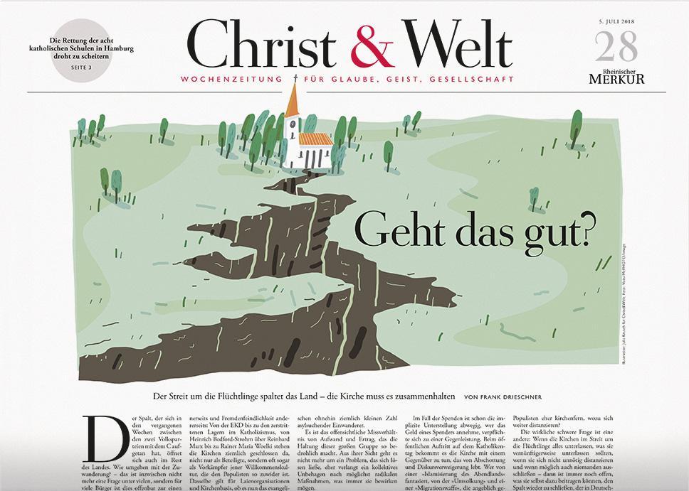 Christ&Welt 28/2018
