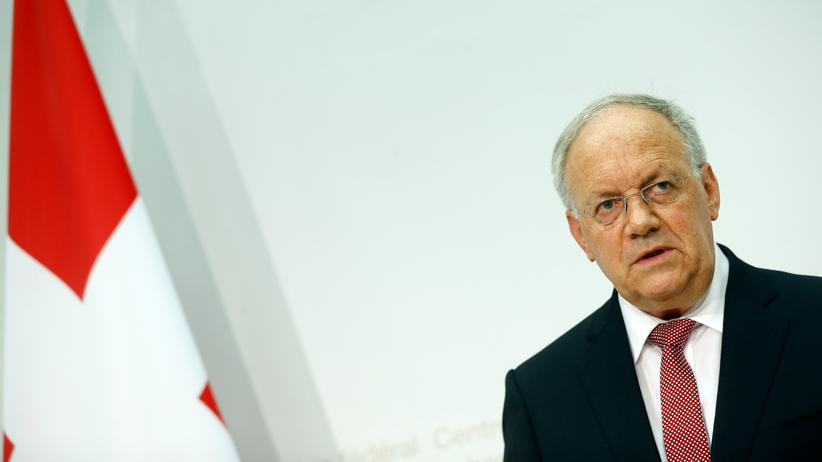 Johann Schneider-Ammann: Der Schweizer Wirtschaftsminister Johann Schneider-Ammann