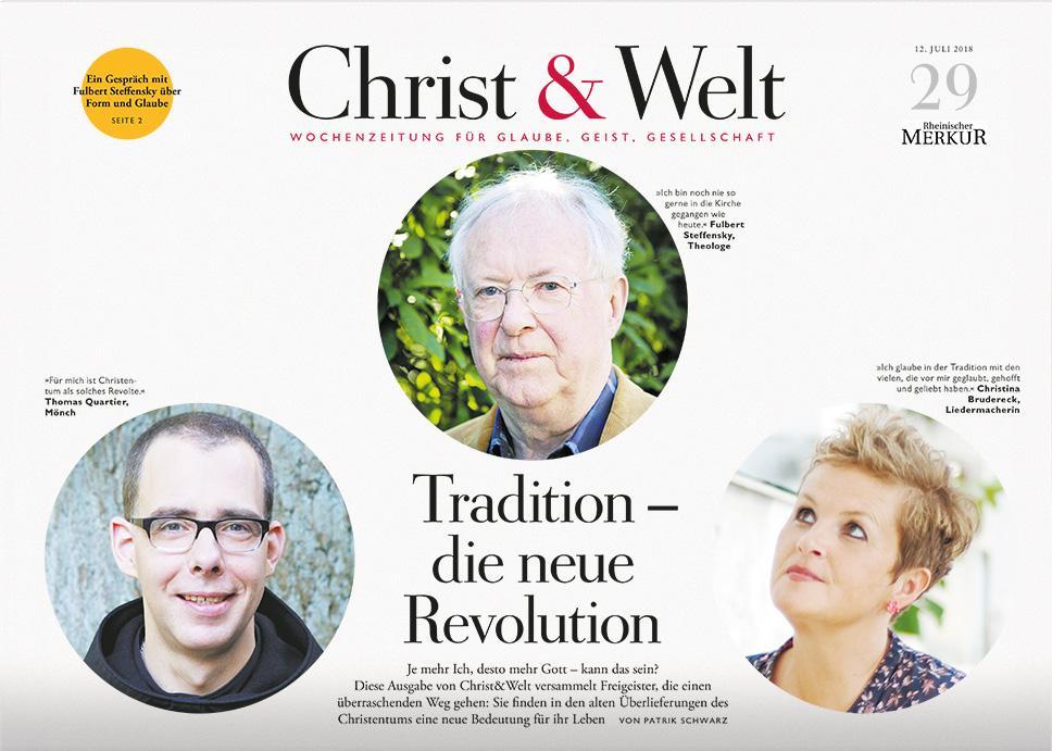 Christ&Welt 29/2018