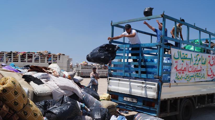 Syrien: Der Tod kommt von oben