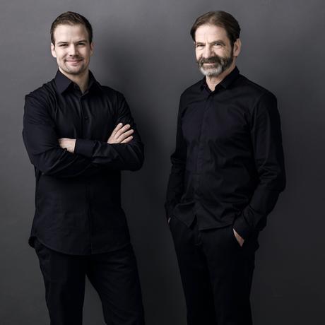 Fleischersatz: Thomas und Hermann Neuburger produzieren Leberkäse – und nun auch Fleischalternativen aus Pilzen.