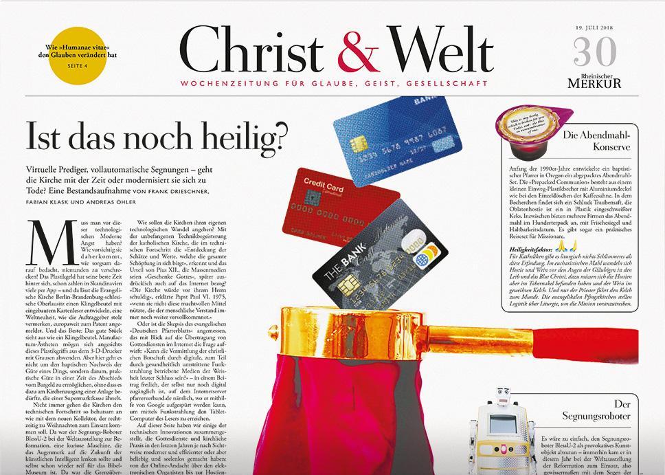 Christ&Welt 30/2018