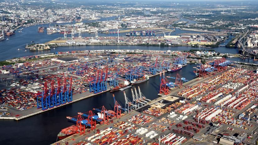 Hafenlobby: Der Hamburger Hafen schrumpft