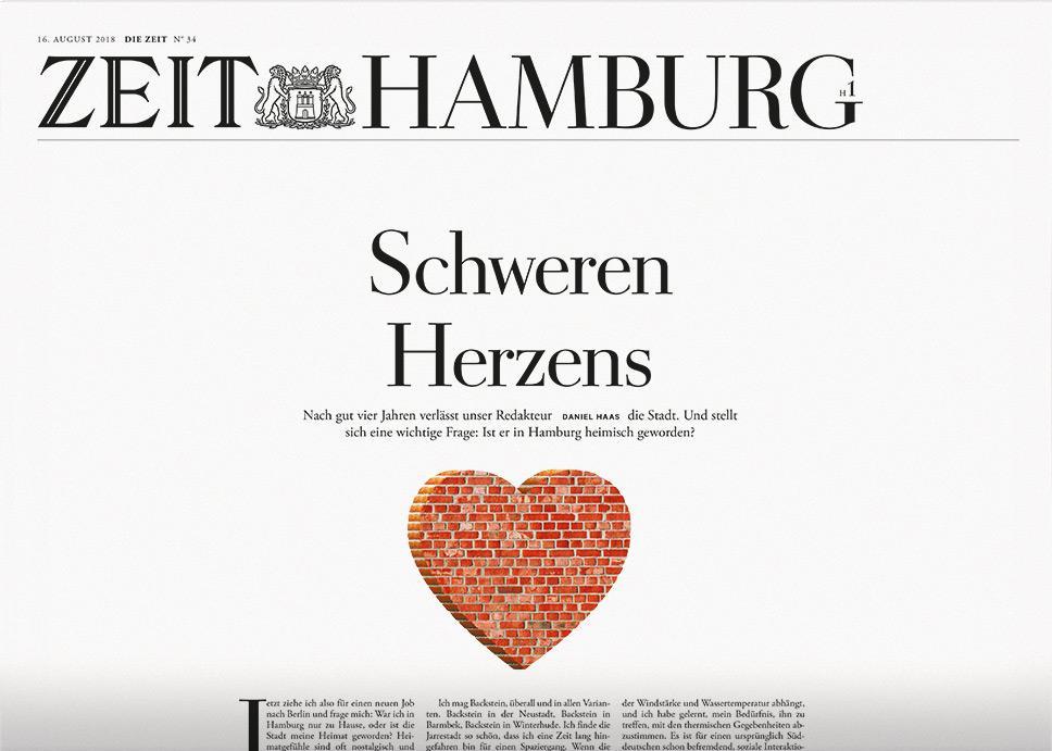 DIE ZEIT Hamburg 34/2018