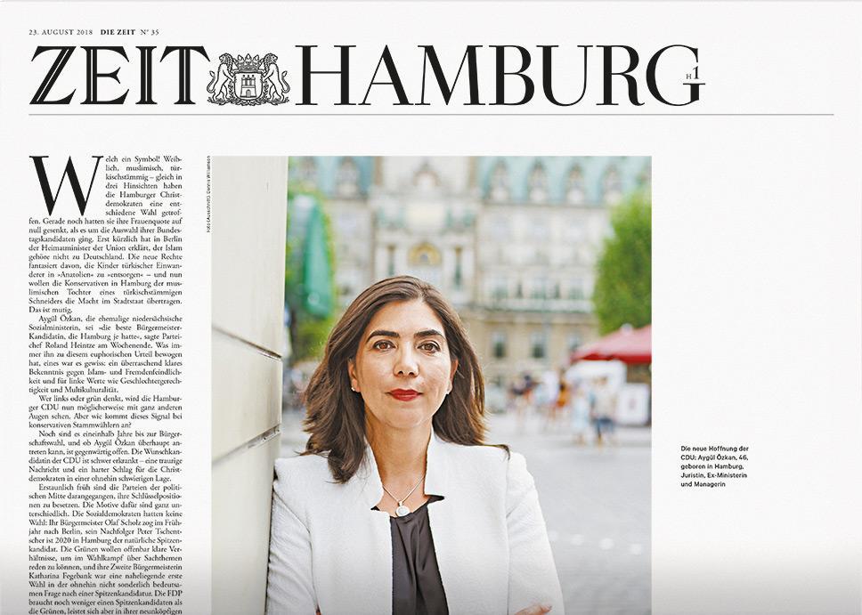 DIE ZEIT Hamburg 35/2018