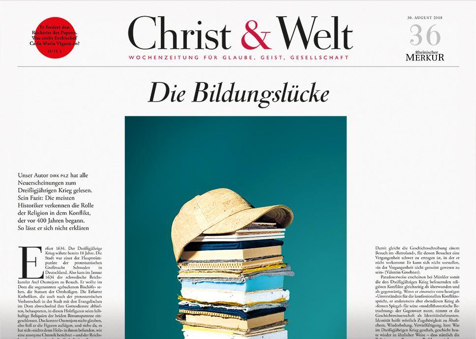 Christ&Welt 36/2018
