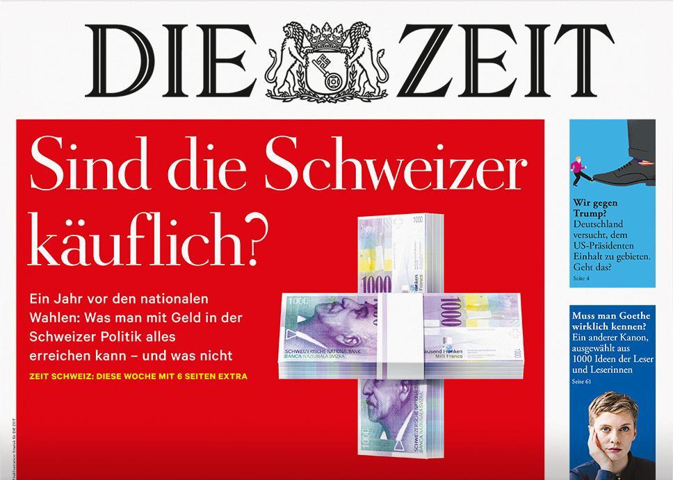 DIE ZEIT Schweiz 36/2018