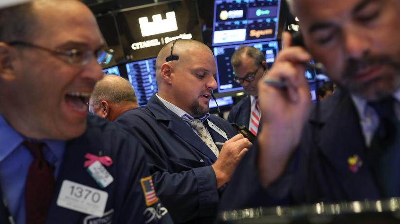 Finanzkrise: Händler an der Wall Street
