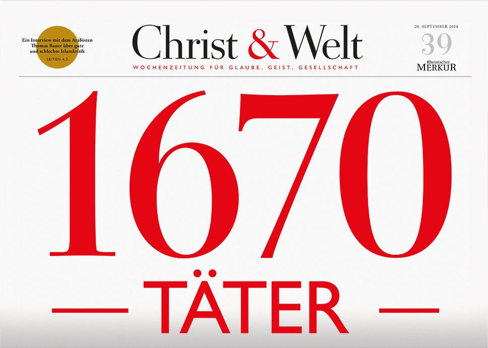 Christ&Welt 39/2018