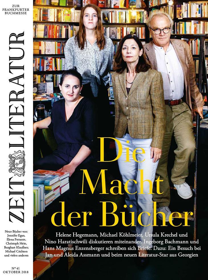 DIE ZEIT Literatur 41/2018