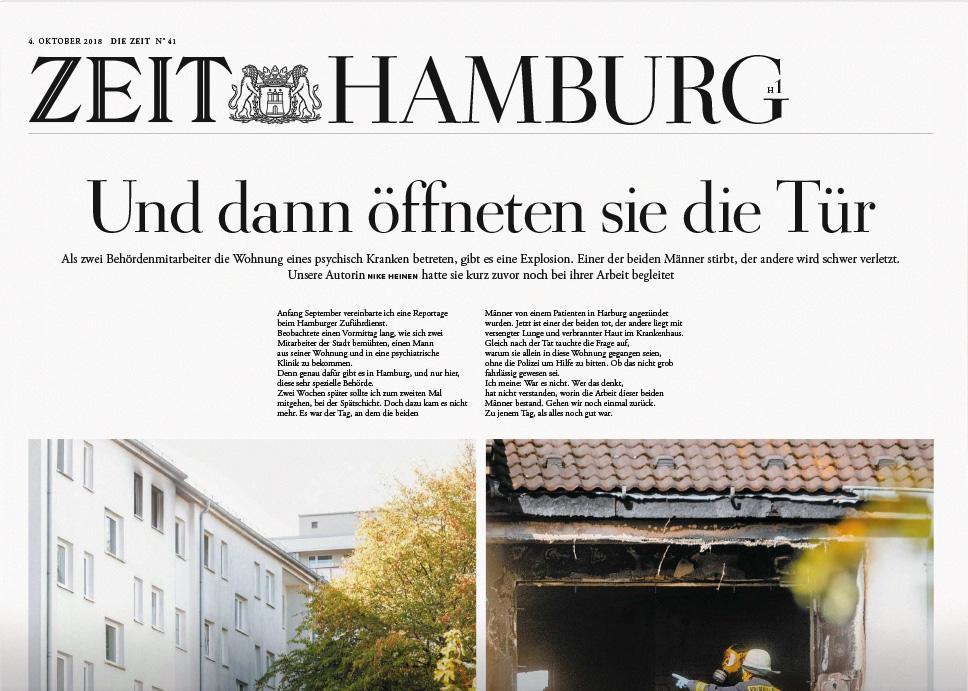 DIE ZEIT Hamburg 41/2018