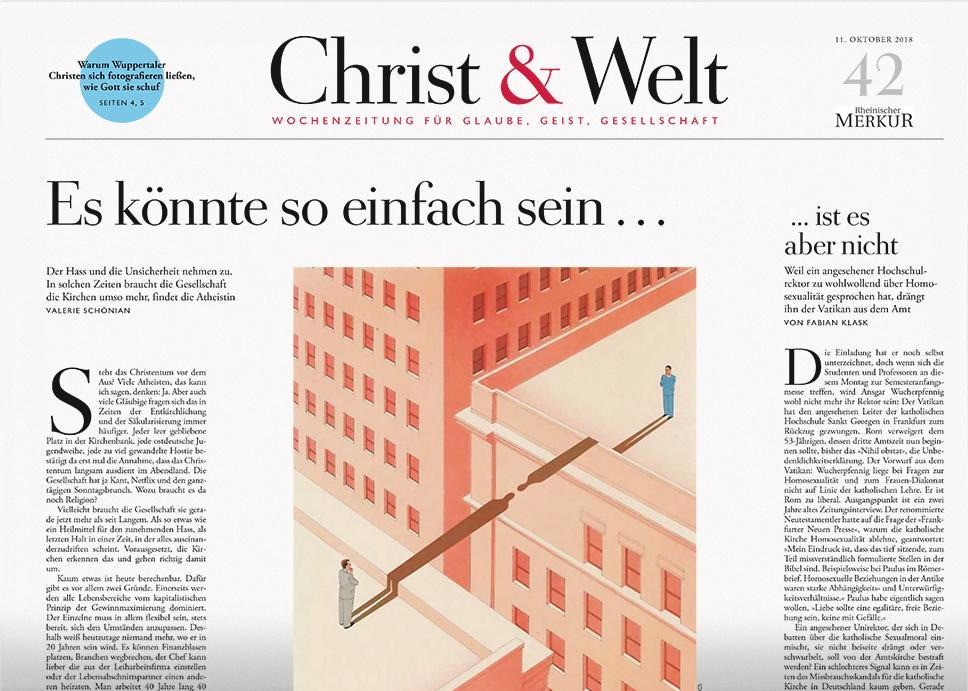 Christ&Welt 42/2018