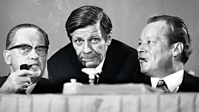 Helmut Schmidt: War Schmidt in der falschen Partei?