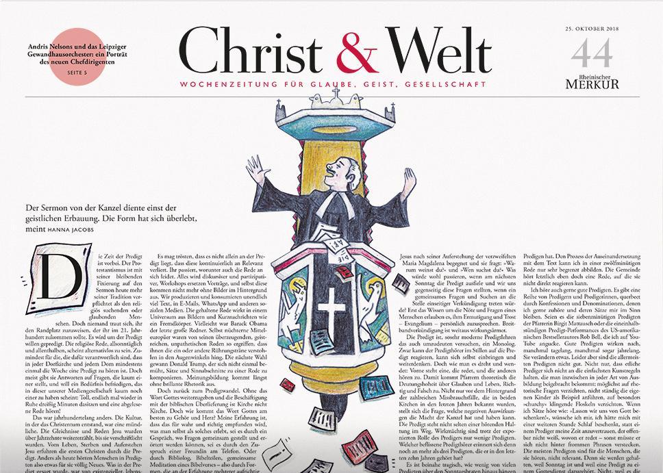 Christ&Welt 44/2018
