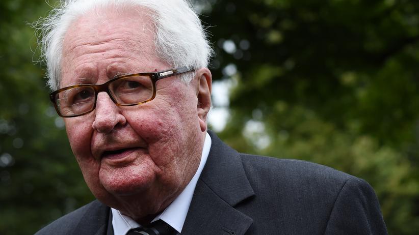 Hans-Jochen Vogel: Der frühere SPD-Bundesvorsitzende Hans-Jochen Vogel