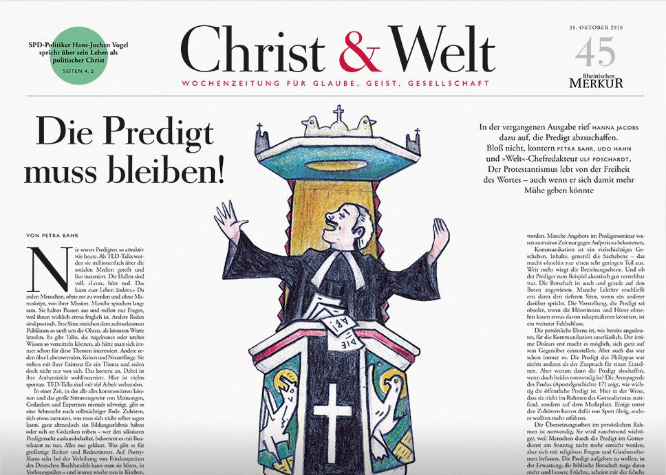 Christ&Welt 45/2018