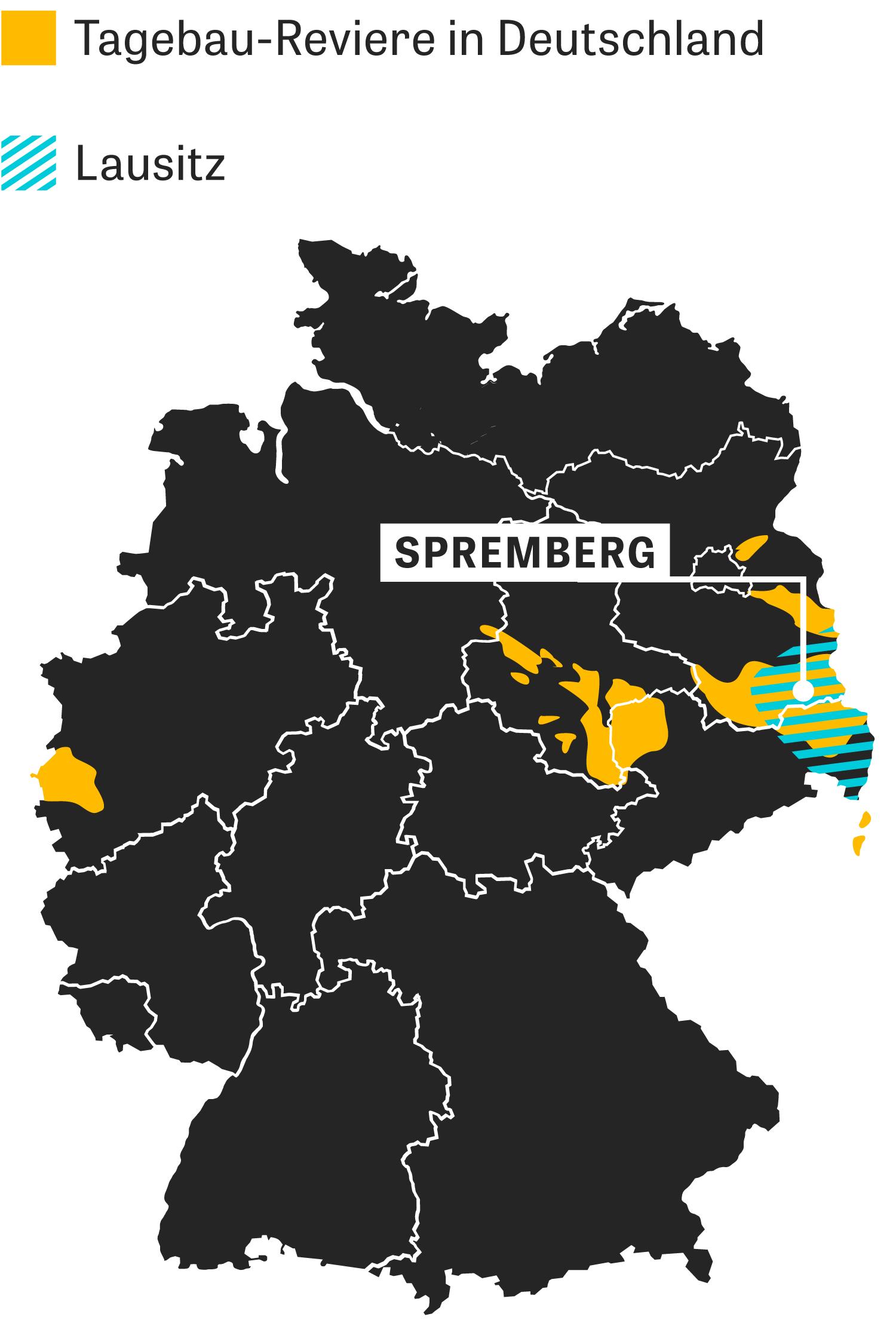 Lausitz: Hier wird noch Braunkohle abgebaut.