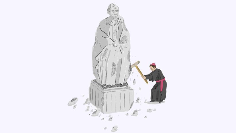Missbrauchsskandal: Einige junge Bischöfe scheren aus der Reihe aus und kritisieren das Verhalten ihrer Vorgänger.
