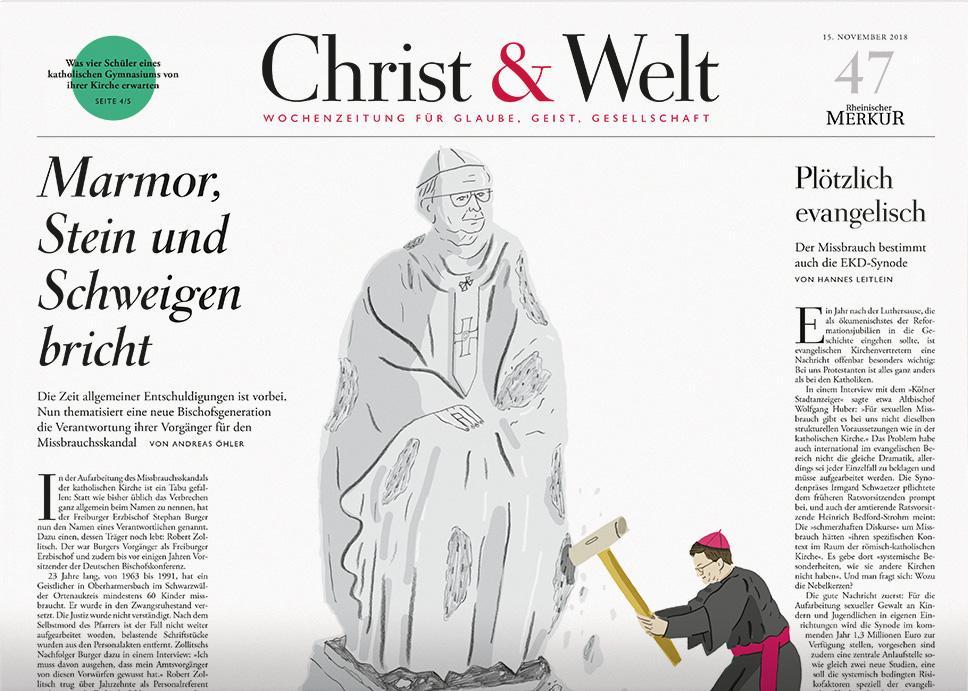 Christ&Welt 47/2018