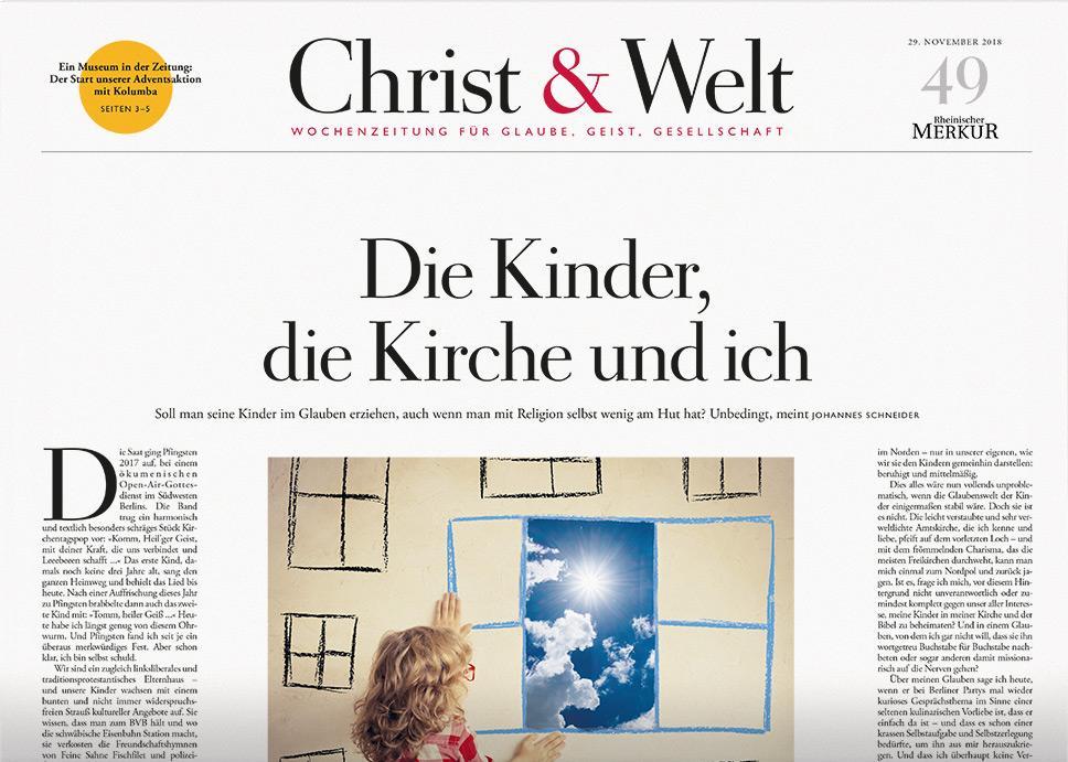 Christ&Welt 49/2018