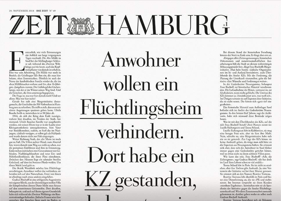 DIE ZEIT Hamburg 49/2018