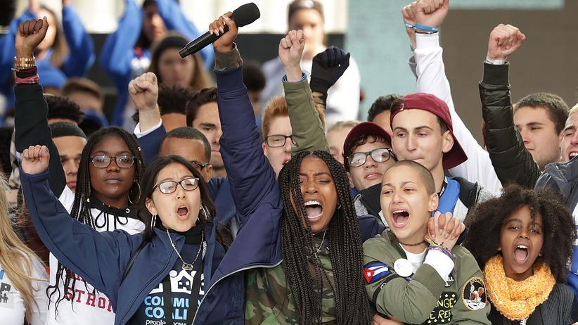 """Waffengesetze in den USA: """"Ich hoffe, sie wird Präsidentin"""""""