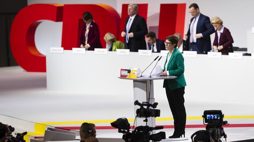 Annegret Kramp-Karrenbauer: CDU und nu?