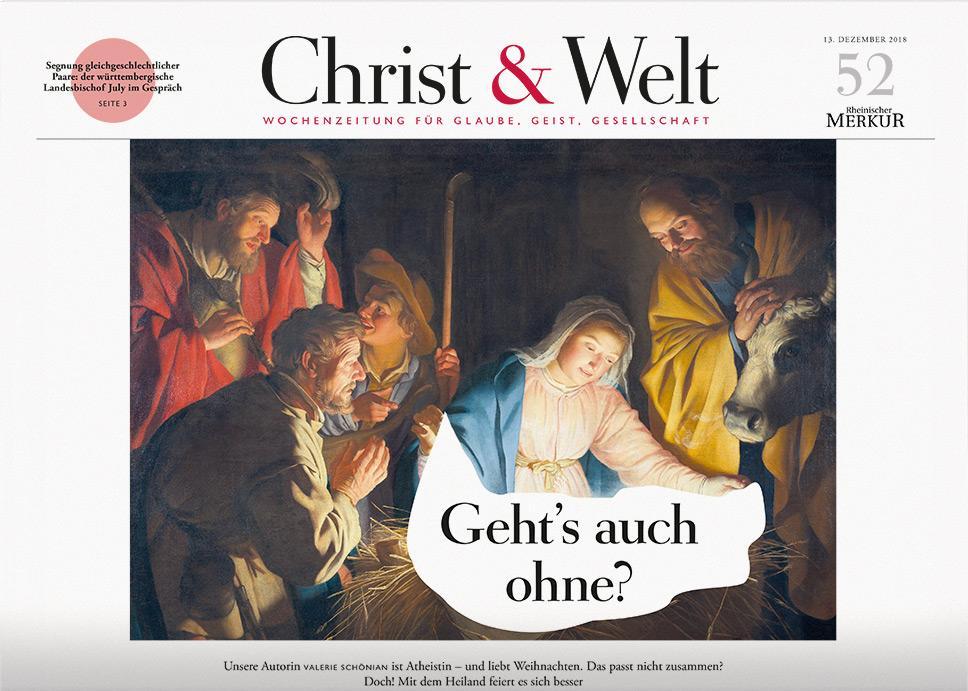Christ&Welt 52/2018