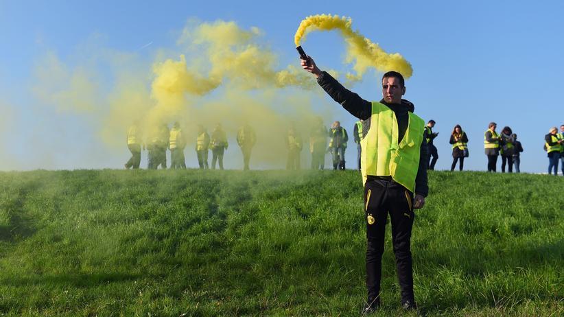 Gelbwesten-Proteste: Proteste in Bordeaux gegen die steigenden Benzin- und Ölpreise.
