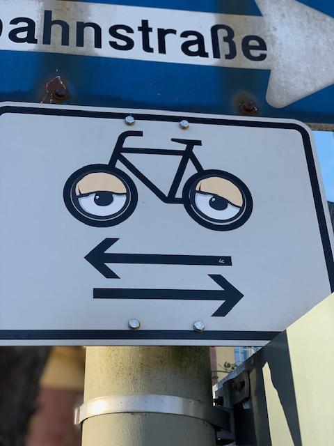Hier nur für frühjahrsmüde Radfahrer?