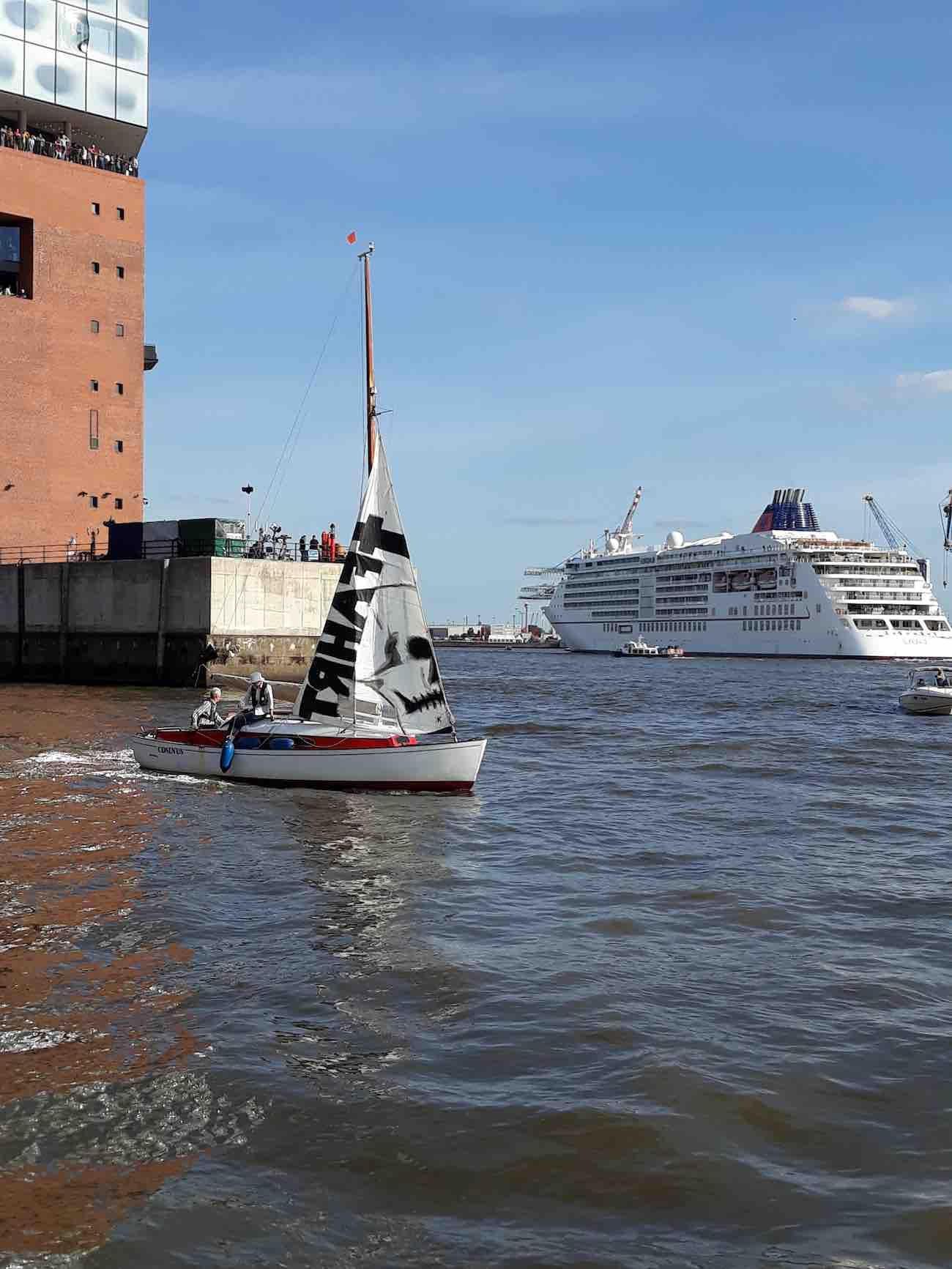 Cruise Days: Nicht nur an Land regt sich Widerstand.