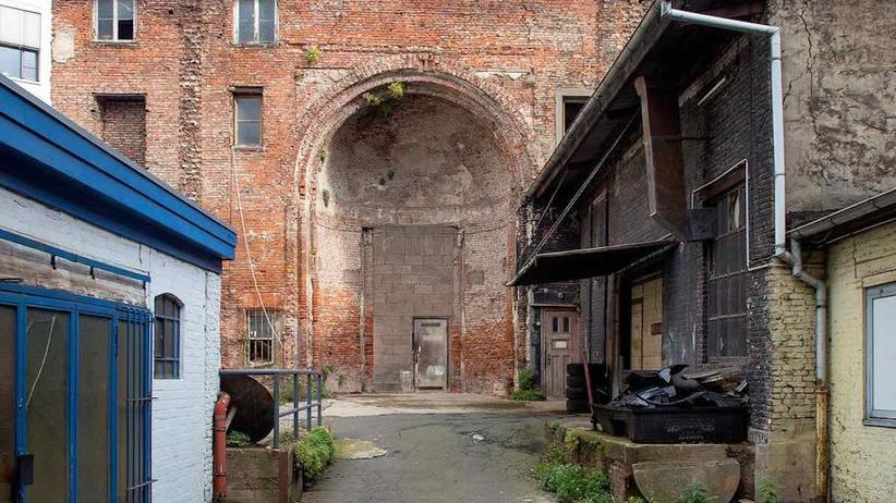 Synagoge: Warum mitten in Hamburg eine Synagoge zerfällt