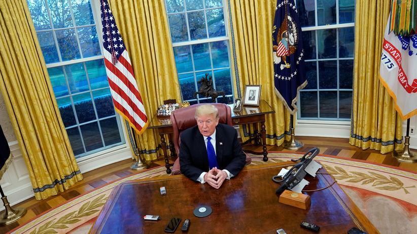 Donald Trump: Ein Präsident der Leere
