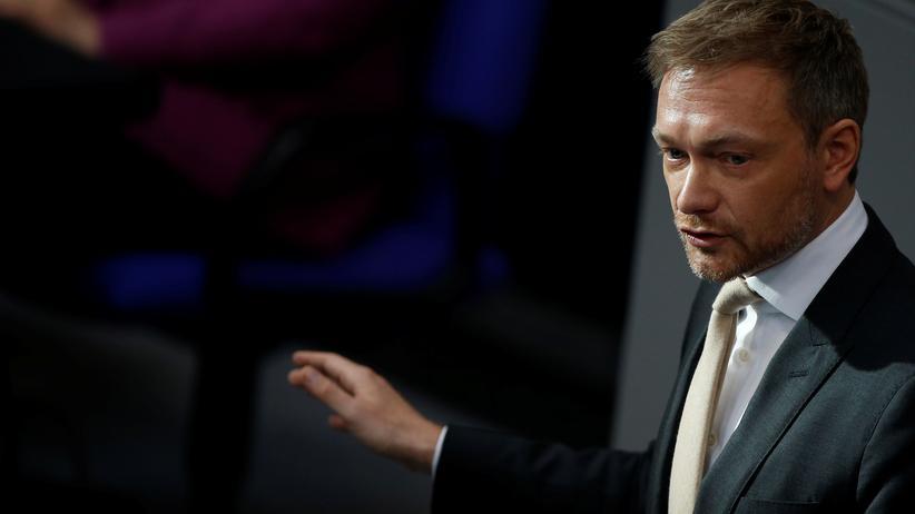 Christian Lindner: Der FDP-Vorsitzende Christian Lindner spricht im Bundestag (Archivbild).
