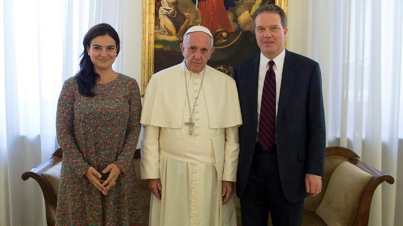 Pressesprecher des Papstes: Protest gegen den Papst?
