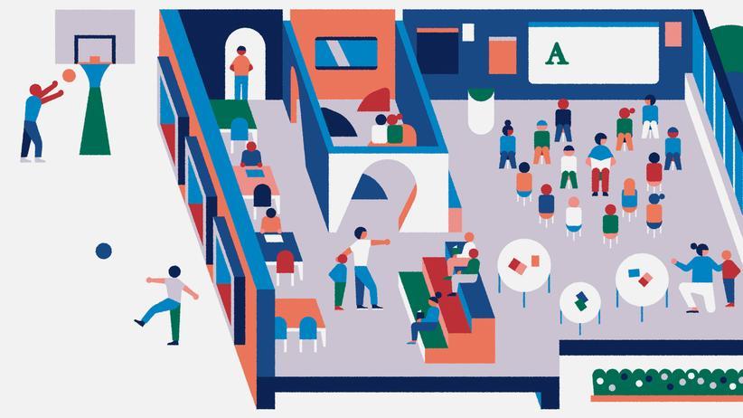 Schulgebäude: Pädagogisch wertvolle Architektur