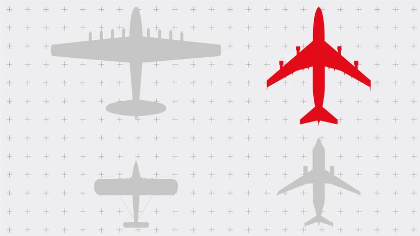Große Flugzeuge: Die Giganten über unseren Köpfen
