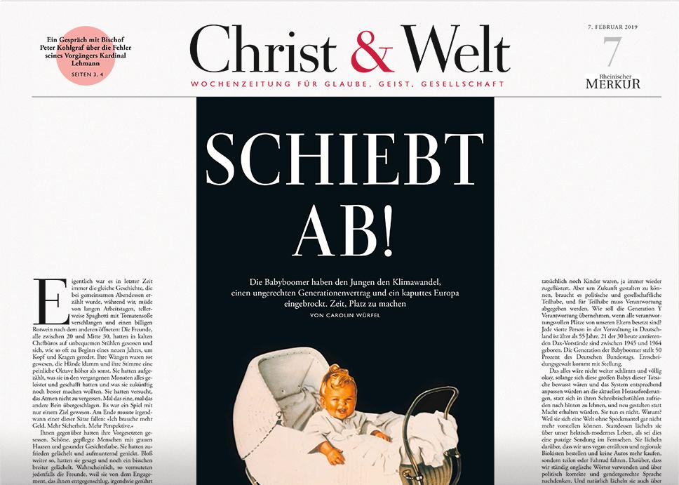 Christ&Welt 7/2019