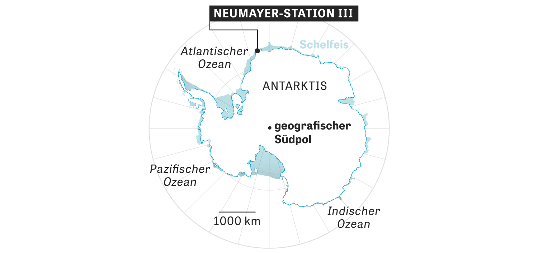 """Antarktis Station """"Neumayer III"""": Zehn Jahre im Eis"""