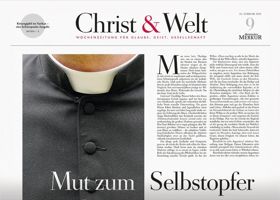 Christ&Welt 9/2019